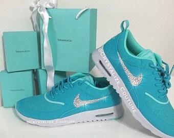 Nike Schuhe Silber Glitzer