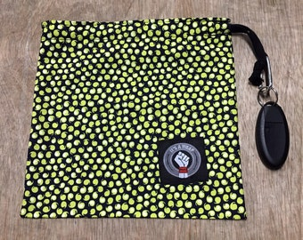 Yellow Spots Stash Bag