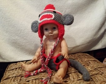 Baby Crochet Outfit set