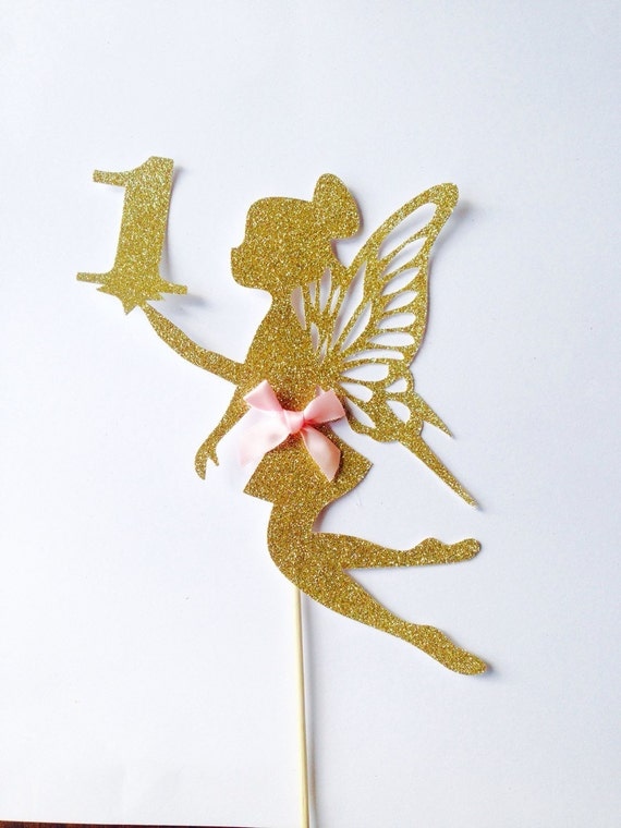 fairy wedding cake toppers uk cake topper large gold glitter one cake topper 14113