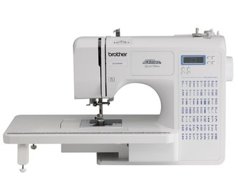 Brother CE7070PRW Project Runway 70-Stitch Computerized Sewing Machine with Wide Table