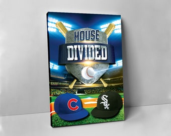 Sox vs Cubs | House Divided Canvas Print