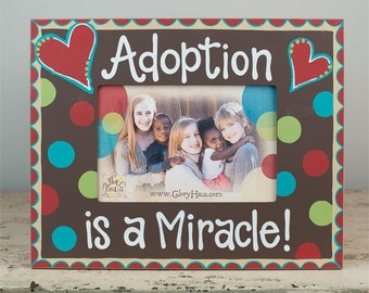 Adoption Frame Etsy