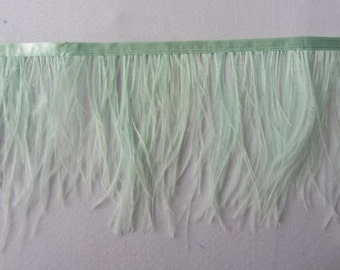 10Yards  Ostrich  Feather Trimming Fringe
