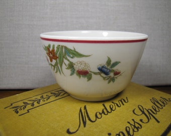 Floral Pattern - Custard Cup