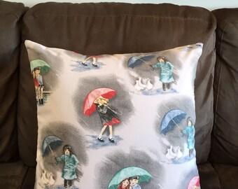 Cushion Cover Home Decor Rainy Day Children Bedroom/Playroom Medium