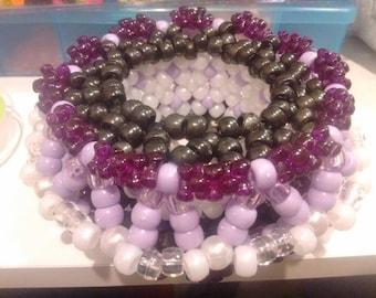 Purple Cage Cuff