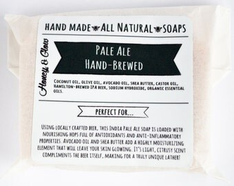 Pale Ale Hand-Brewed Soap