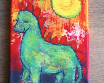 Canvas print: The Dragon