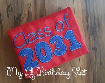 Class of 2028, 2029, 2030, 3031, etc Shirt