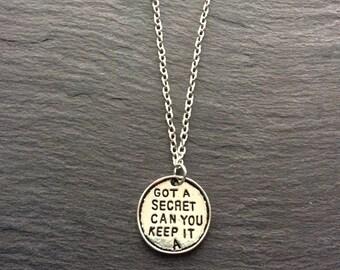 Got A Secret Necklace