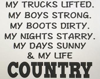 I Like Country Shirt I Like Country Tank Top