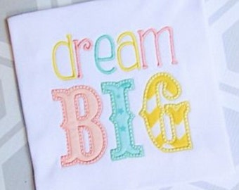 Baby Onesie, Dream Big Shirt, Shirt for Girls, Shirt for Boys, Kid PJs