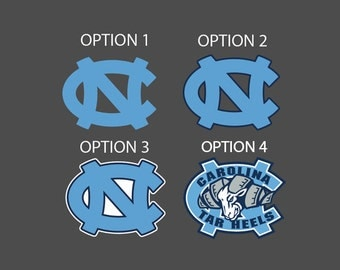 UNC Tarheels Full Color - Die Cut Decal