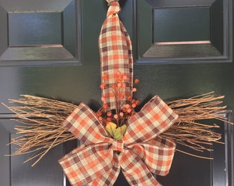 Decorative fall themed door/wall hanging