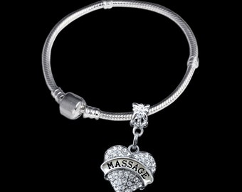 Massage Bracelet Massage Charm Massage gift Massage Jewelry Masseuse Bracelet Masseuse charm Masseuse gift Masseuse jewelry