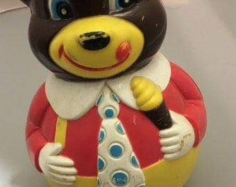 Vintage  toy  ROLY POLY bear