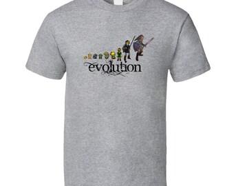 The Evolution Of Link Legend Of Zelda T Shirt
