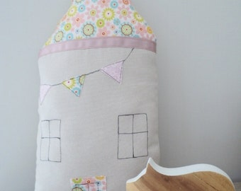 Little House Cushion, children pillow, children decor ON SALE