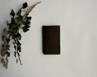 The Nomad-- Small Leather Journal-- Notebook, Diary, Sketchbook