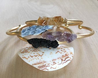 Crystal Bracelet, Crystal Cuff