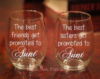 Pregnancy Announcement, Best Friends Aunt, New Aunt Gift, Gift for Aunt, Aunt to Be, Sister Aunt, Auntie Gift, Best Friend Gift, Pregnancy