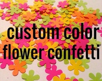 Build Your Own Custom Color Flower Confetti Mix