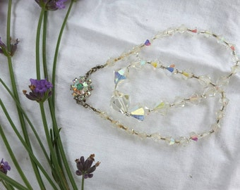 Graduated Aurora Borealis Necklace