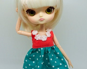 Pullip Polka Dot Dress