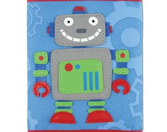 Boy's Robot Wallet with Velcro Closure