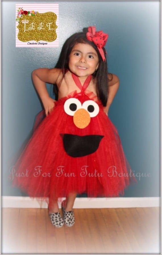 elmo tutu dress elmo tutuselmo costume halloween costumehalloween tutus elmo tutu childrentutusgirl costumegirl dressesjust for fun - Halloween Costumes Elmo