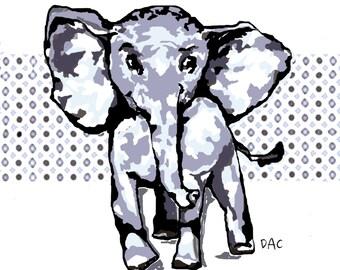 Elephant Art Prints Decor