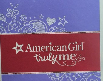 American girl doll blind bag clothing