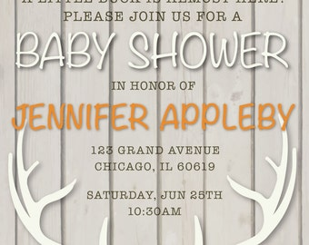 OH DEER! Baby Shower Invitation