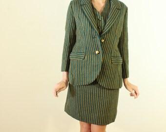 Fabulous 1960s Vintage San Lee 4 Piece Suit