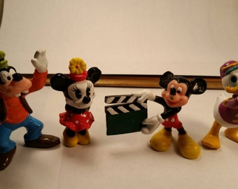 Set of 4 Vintage Disney Toy Figures