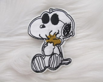 Snoopy Sunglasses Embroidered Iron On Patch