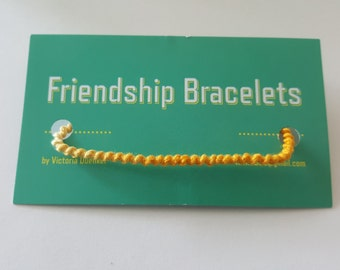 SSS13 Sunflower->Yellow Friendship Bracelet