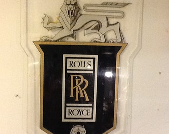 Rolls Royce Advertising Sign