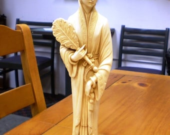 Beautiful Japanese Woman Statue Made in Italy