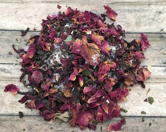 Floral Mint Herbal Bath Tea