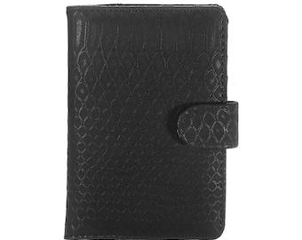 Passport travelers notebook cover black