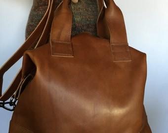 Bag cowhide leather unisex art Rihanna