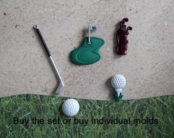 Golf Cake Topper Etsy