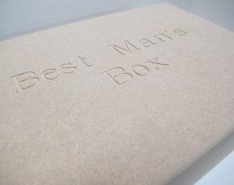 Engraved Wedding Boxes,Bridesmaid, Groom,Best Man, Groomsman, Mother of The Bride,