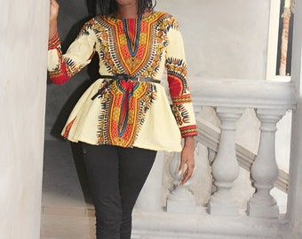LINA BROWN DASHIKI
