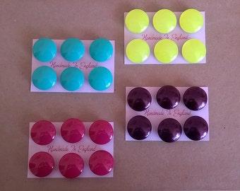 Magnet Set of 6 - Fridge/Whiteboard/Office/School/Decorative/Home/Gift/Favours