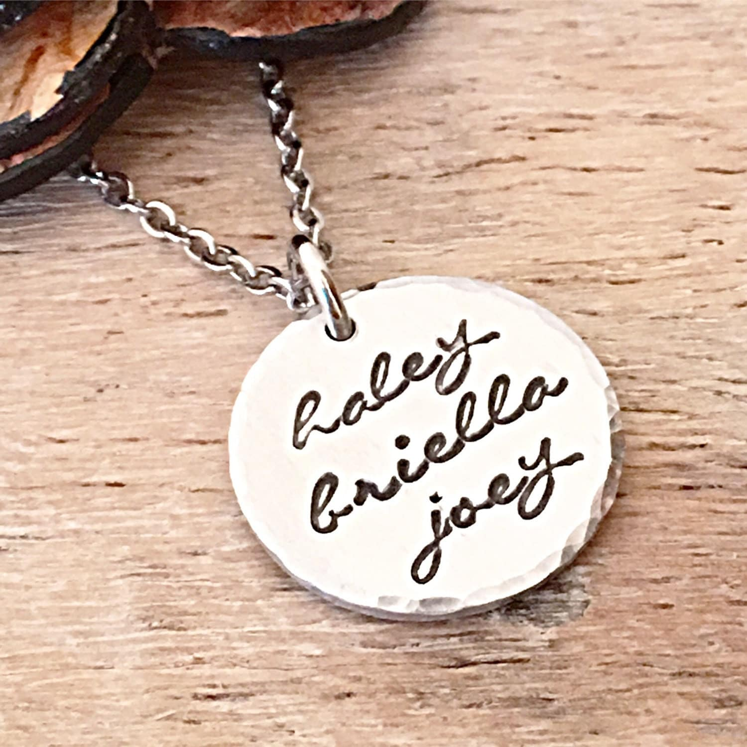 personalized name necklace mothers day jewelry necklace with. Black Bedroom Furniture Sets. Home Design Ideas