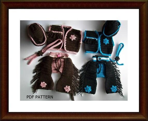 Crochet Baby Cowboy Chaps Pattern : Crochet Pattern Crochet Baby Cowboy Chaps by ...
