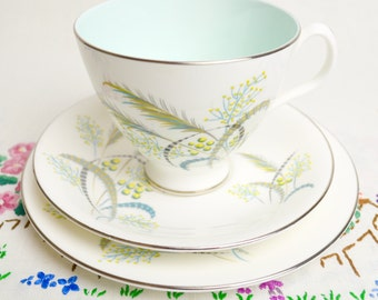 beautiful trio by Royal Albert in the Festival pattern